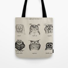 Caffeinated Owls Tote Bag