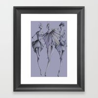 Fashion_Illustration Framed Art Print