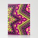 Indian Drugs Pattern Stationery Cards