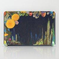 Cave Garden II iPad Case