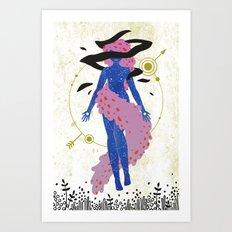 Celestial Enchantress Art Print