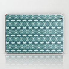 Horizontal Geometrics Teal Laptop & iPad Skin
