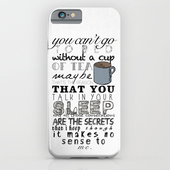 One Direction: Little Things iPhone & iPod Case