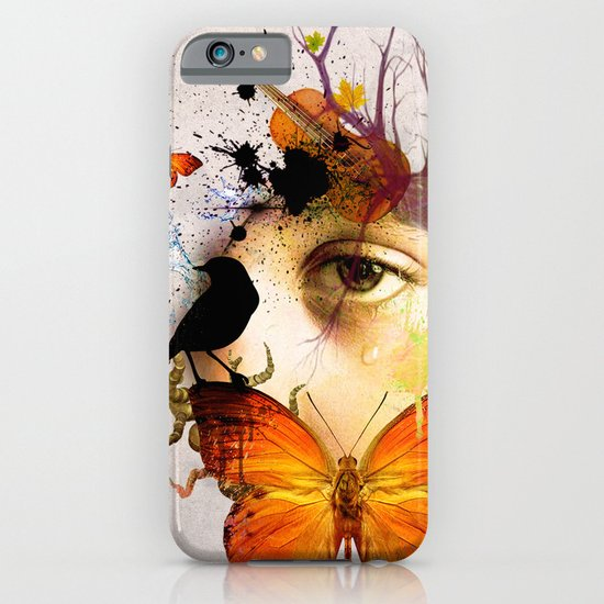 fluttery abstract   iPhone & iPod Case