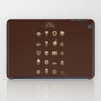 The Exquisite Pop Culture Skulls Museum iPad Case