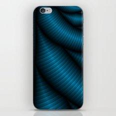 Blue Vibe iPhone & iPod Skin