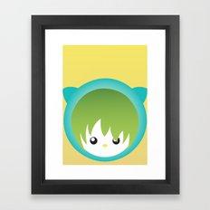 miew Framed Art Print