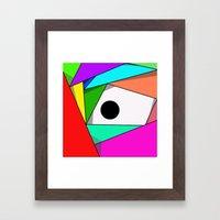 The Eyeball Framed Art Print