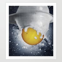 Birth Of Planet Art Print