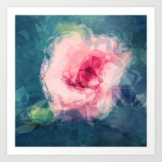 Abstract Flower II Art Print