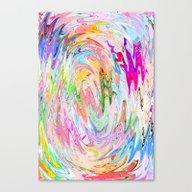 Finger Tornado Canvas Print