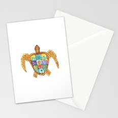 Sunny Sea Turtle Stationery Cards