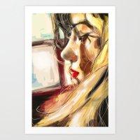 Antonella Art Print