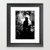 What Gets Lost In The Da… Framed Art Print