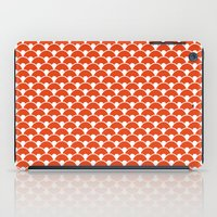 Dragon Scales Tangerine  iPad Case