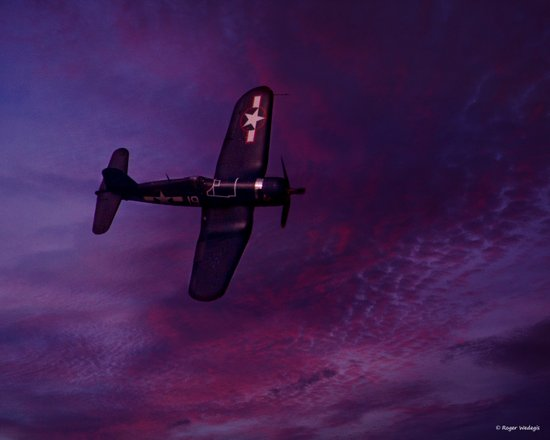 Corsair At Dawn Art Print
