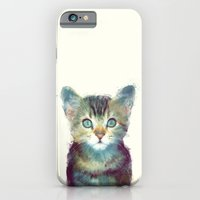 iPhone & iPod Case featuring Cat // Aware by Amy Hamilton