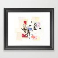 Horse Opera Framed Art Print
