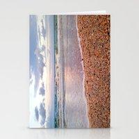 Seeing Seashells on this Seashore Stationery Cards