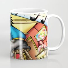 C2 & Posse piano player Mug