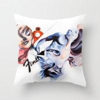 P.O.A.M Fender Throw Pillow