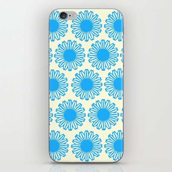 Vintage Flower_Turquoise iPhone & iPod Skin