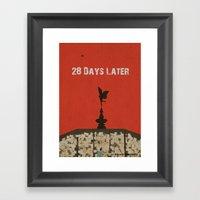 28 Days Later Framed Art Print