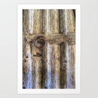 Ancient Church Door Art Print