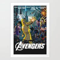 The Just the Worst Avengers! Art Print