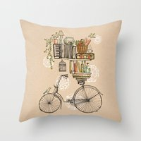 Pleasant Balance Throw Pillow
