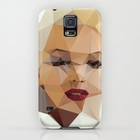 Galaxy S5 Cases featuring Monroe. by David