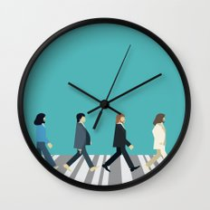 The tiny Abbey Road Wall Clock