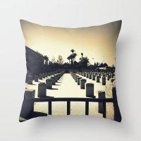 Koutoubia In Marrakesh Throw Pillow