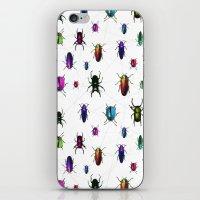 Beetles iPhone & iPod Skin