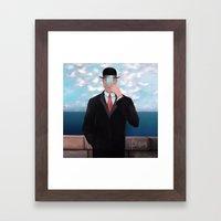 Son of Woman  Framed Art Print