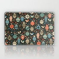 Festive Folk Charms Laptop & iPad Skin