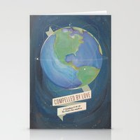 Compelled By Love Space … Stationery Cards