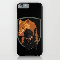iPhone & iPod Case featuring METAL GEAR: The Snake and the Fox by JoPruDuction Art