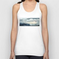 Clouds Unisex Tank Top
