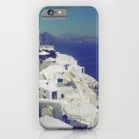 Santorini White & Blue iPhone 6 Slim Case