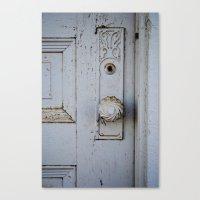 Farmhouse Door Canvas Print