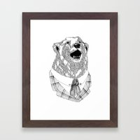 Mr  Bear Framed Art Print