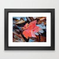 autumnal reverie 646 Framed Art Print