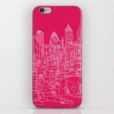 London! Hot Pink iPhone & iPod Skin