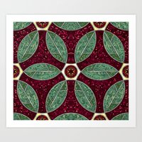 Turkish Bath Mosaic Art Print