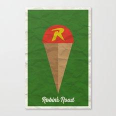Robin's Road Canvas Print