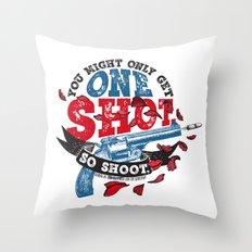 Gemina - One Shot Throw Pillow