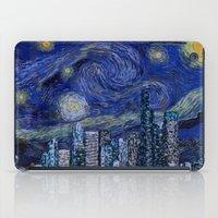 Seattle Starry Night iPad Case
