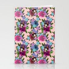 Floral Cat - Rose Quartz Stationery Cards