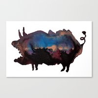 B O A R Canvas Print